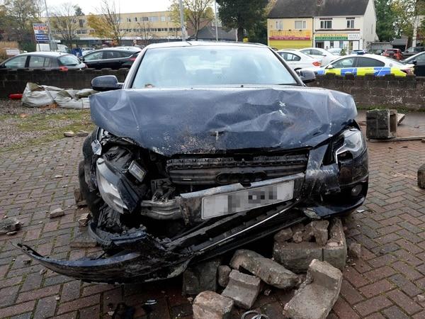 Long delays into Wolverhampton following three-car smash near Ming Moon restaurant
