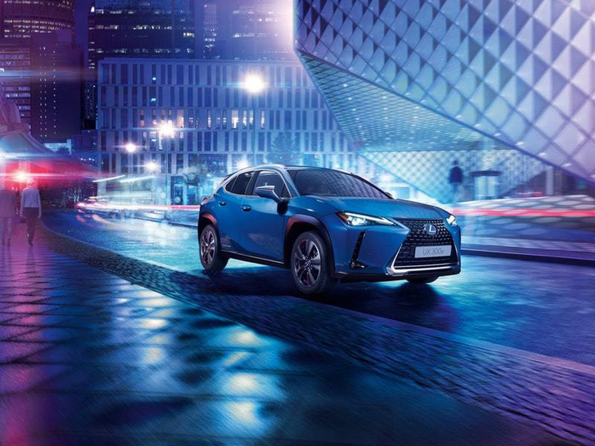 Lexus reveals the UX300e — its first electric vehicle