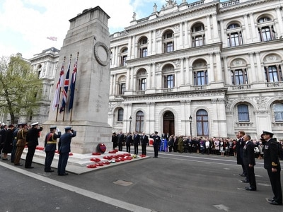Ministers consider inviting Germany's president to Cenotaph for WW1 centenary