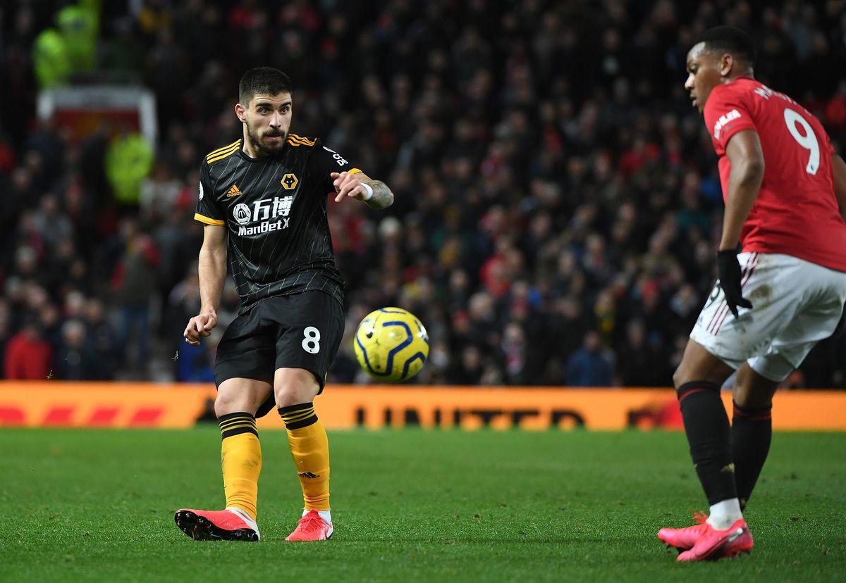 Ruben Neves of Wolverhampton Wanderers.