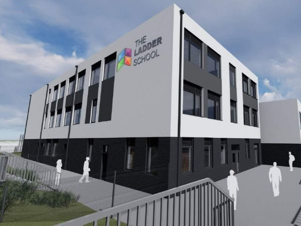 An artist's impression of what the new Ladder School building on the former Shannons Mill site might look like. Photo: Race Cottam Associates.