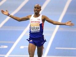 Mo Farah back in Birmingham for indoor grand prix ahead of World Championships bid
