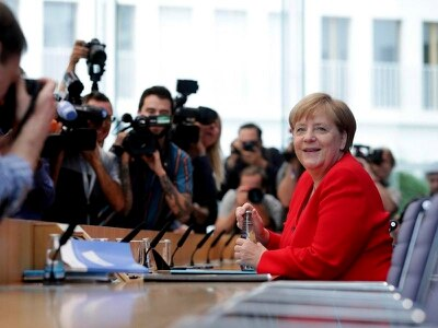 Merkel criticises Trump's 'go back' comments on Democratic lawmakers