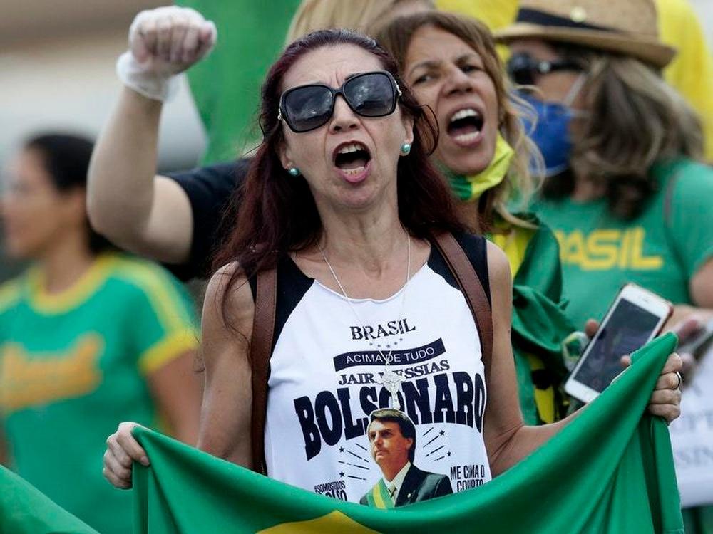 Brazil's people fear COVID-19 threat their president denies