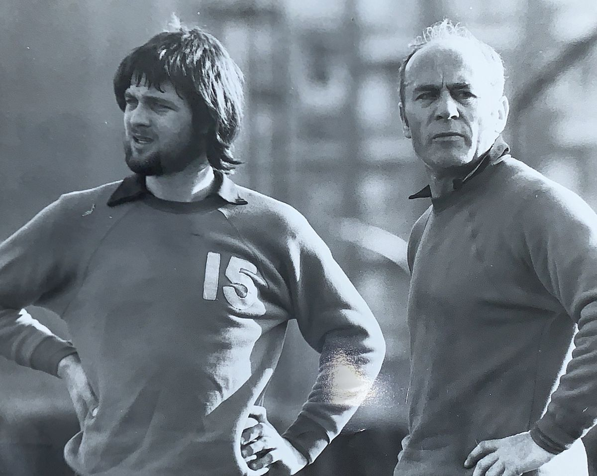 Brian Little and Ron Saunders.