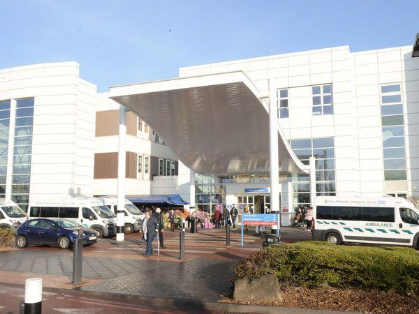 Russells Hall Hospital.