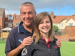 County crown for bowls duo
