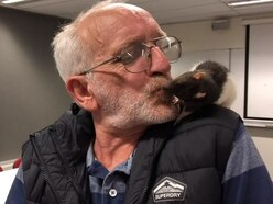 Homeless man reunited with pet rat after police search for 'stolen' rodent