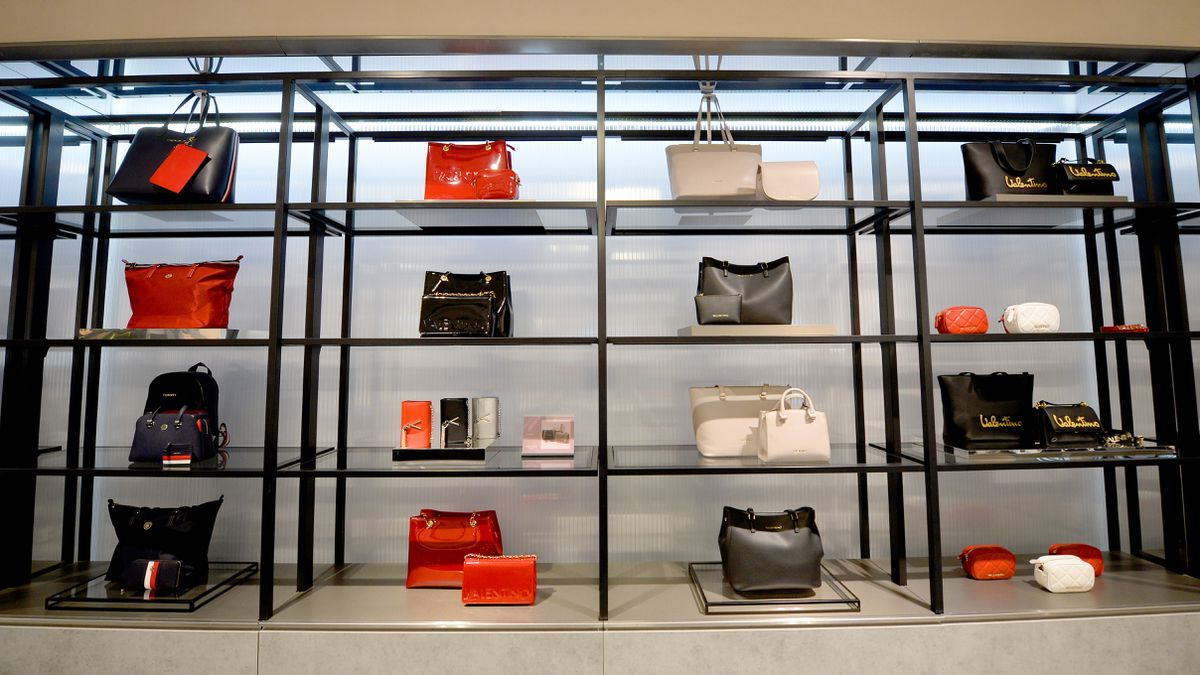 There will be a range of luxury handbags in the Frasers store
