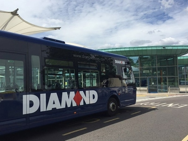 Diamond Buses fined £9,000 for poor punctuality