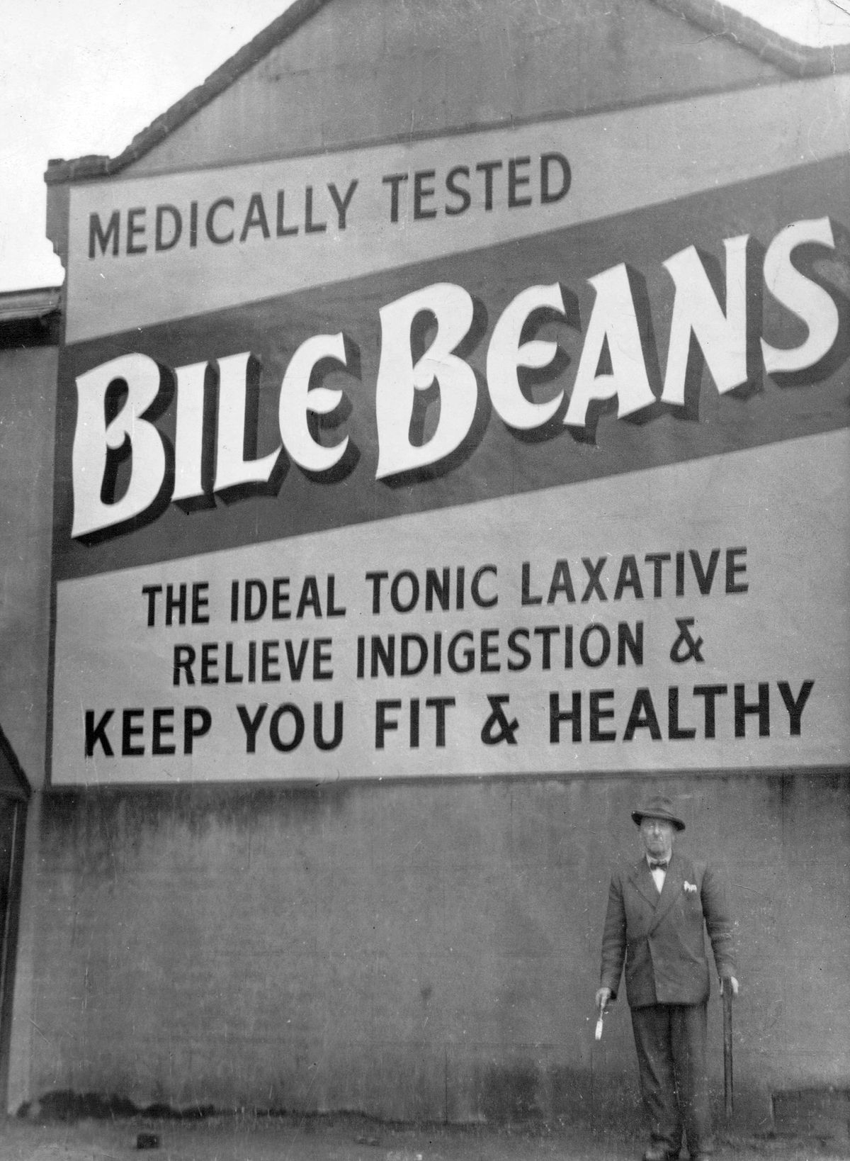 One of Charlie's masterpieces, for the Bile Beans laxative.