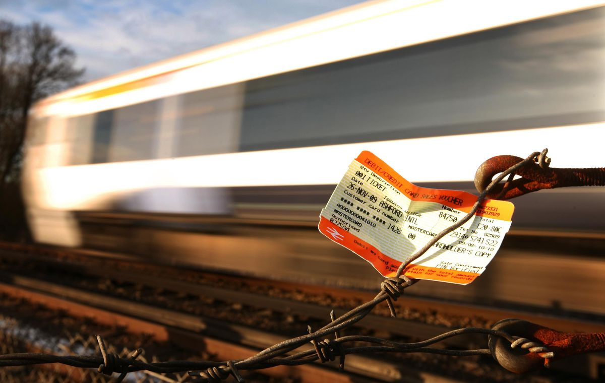 Train tickets are to rise, so look at your employer's options