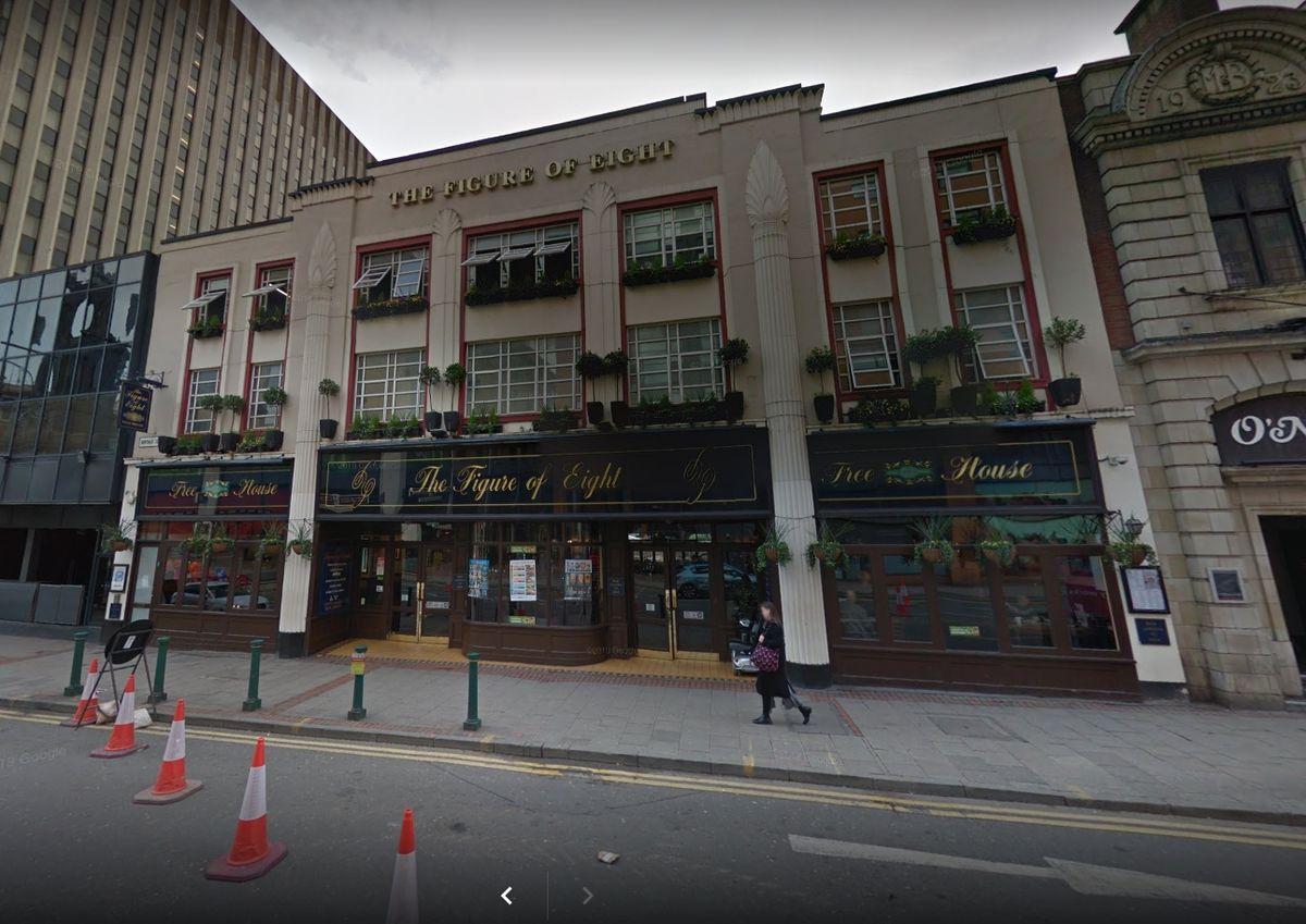 The Figure of Eight on Broad Street in Birmingham. Photo: Google