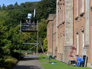 Film crews spotted at Dudley's Himley Hall