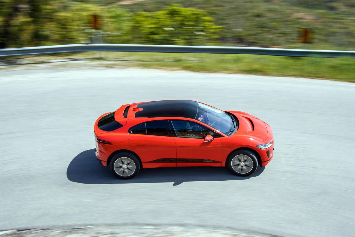 The i-Pace is part of a new generation of all-electric Jaguar Land Rover cars
