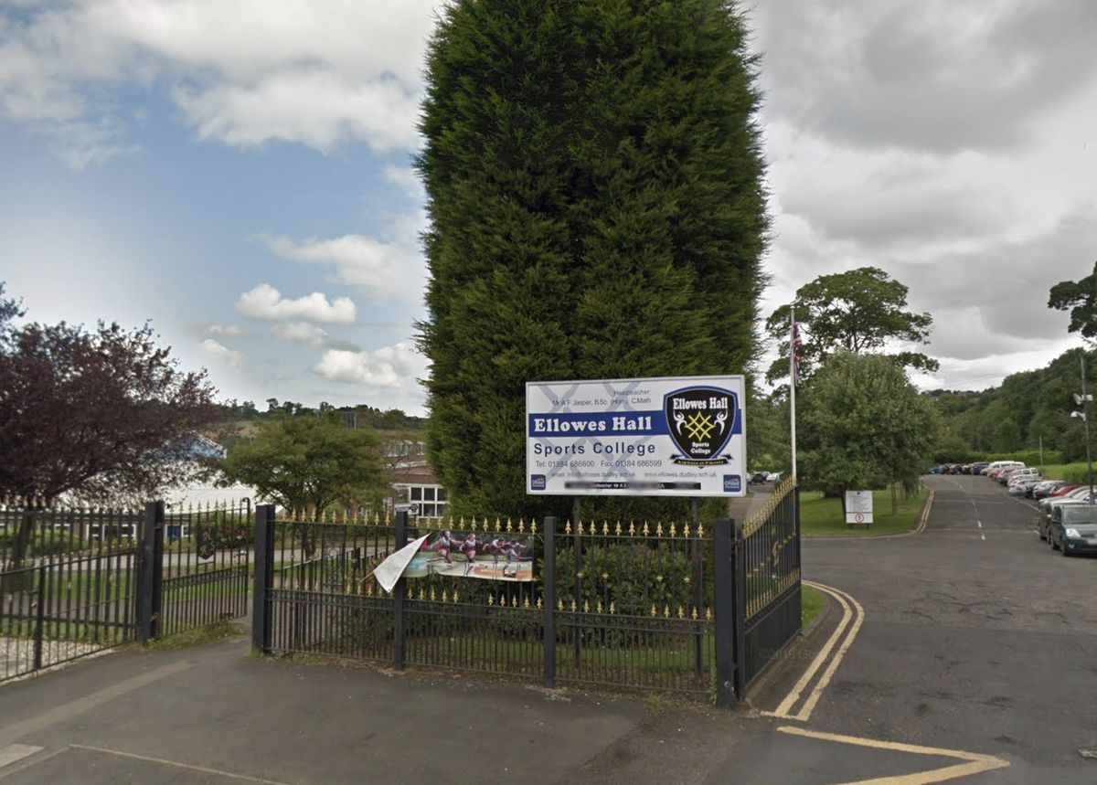 Ellowes Hall Sports College. Photo: Google StreetView.