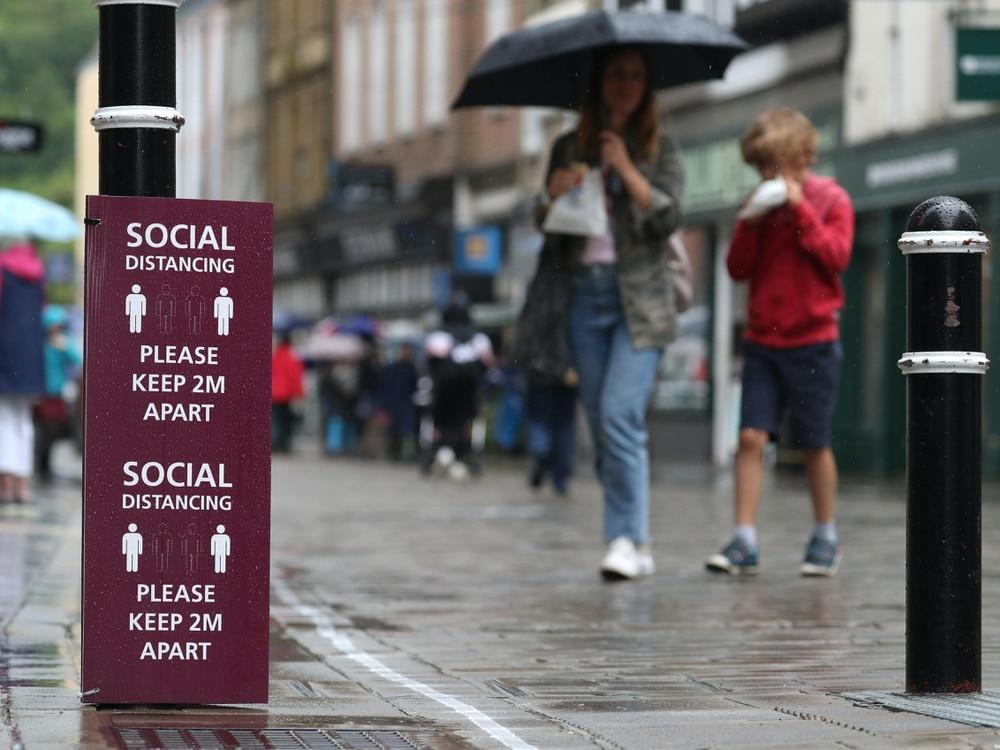 United Kingdom retail sales rebound after record slump