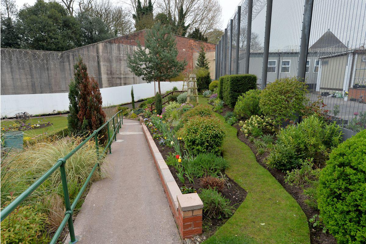 The garden at HMP Stafford