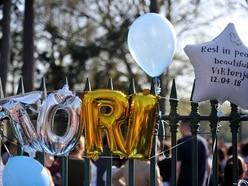 Viktorija Sokolova: Hundreds of balloons tied to West Park gates in memory of tragic teen