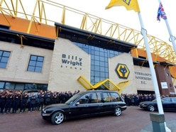 Wolves players, friends and family pay their respects to John 'Foz' Hendley