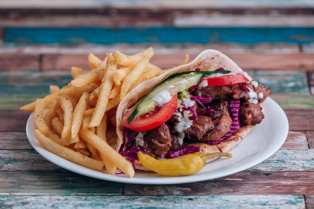 Kebabs are king for Midlands takeaway lovers