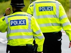 Shed burglar stopped in act by resident
