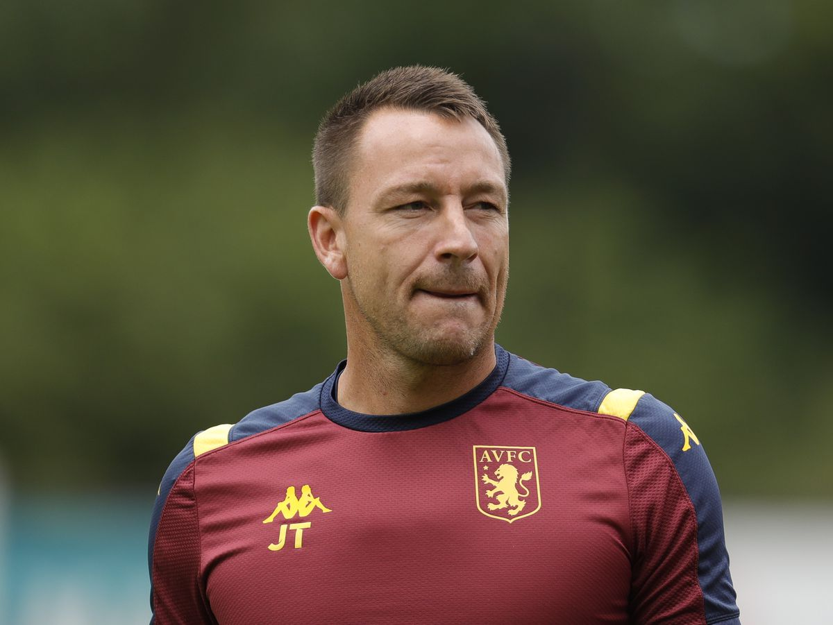 John Terry the assistant manager of Aston Villa. (AMA)