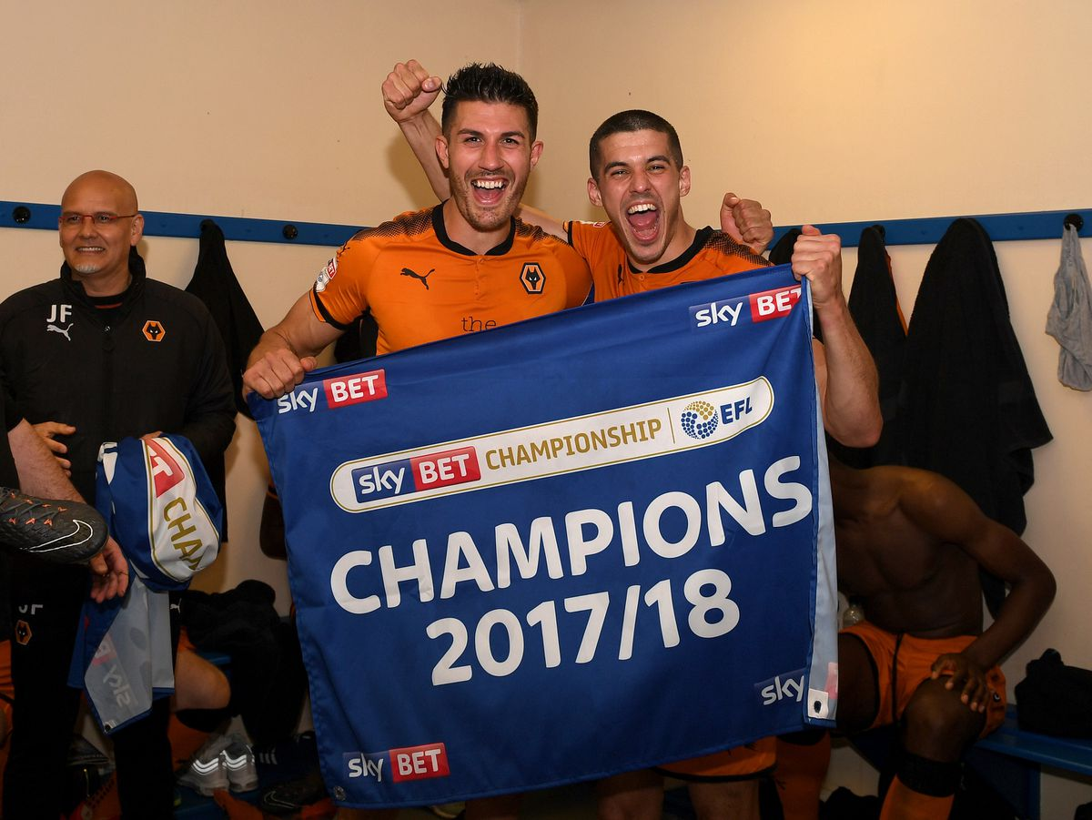 Champions! Wolves win the league after breezing past Bolton