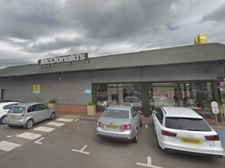 Woman followed then assaulted outside McDonald's in early hours in Stafford