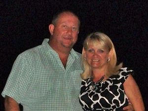 Paul Abbott with wife Jackie, who he killed