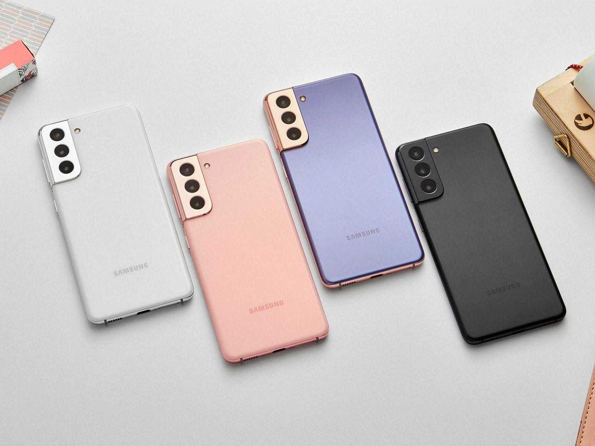 Samsung's new Galaxy S21 smartphones