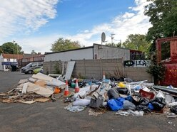 MP hits out at fly-tippers after rubbish dumped behind store in Sedgley