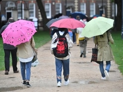 Wet weather to continue for some ahead of bright bank holiday weekend
