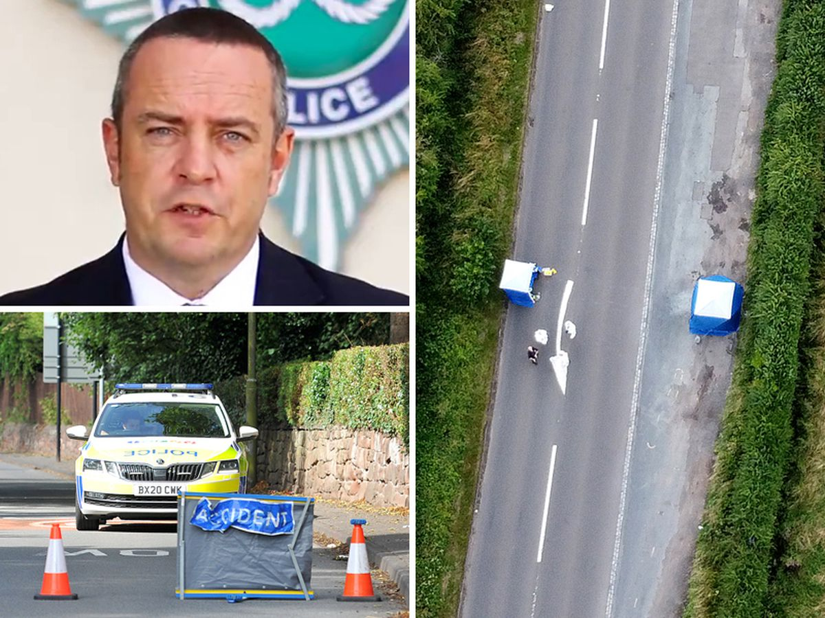Detective Superintendent Tom Chisholm has appealed for help from the public after a woman was killed and set on fire in a layby on the main road from Bridgnorth to Wolverhampton