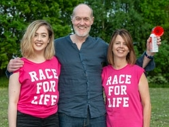Cancer fight father to open Wolverhampton's Race for Life - WATCH