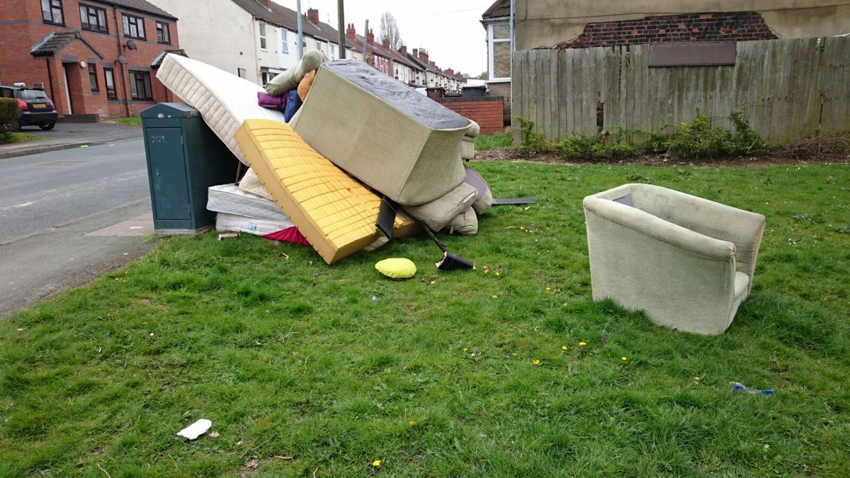 Complaints about fly-tipping have increased