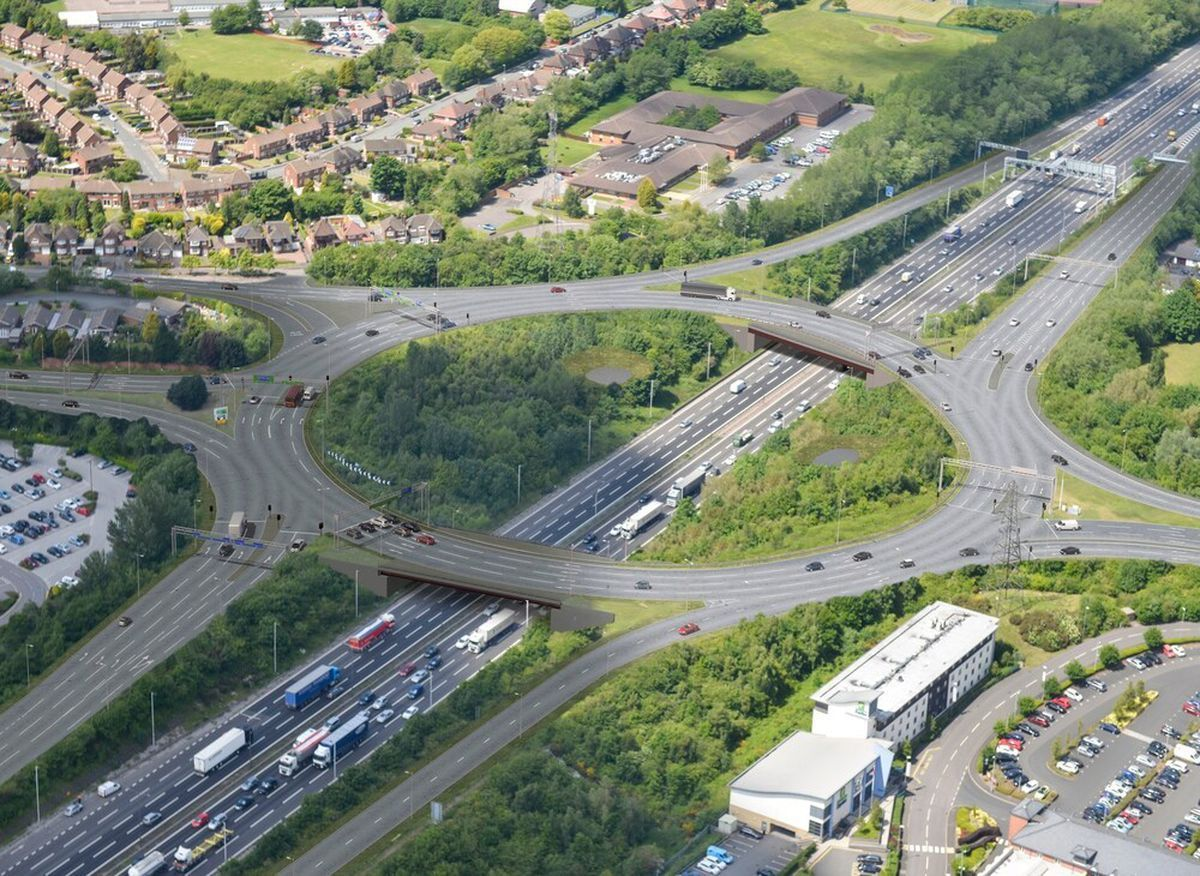 How the revamped junction will look.