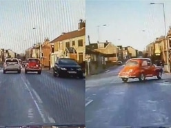 Watch West Yorkshire Police in chase with 51-year-old stolen Morris Minor