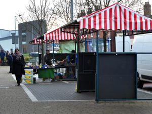 Wednesfield Market has struggled for customers in recent times