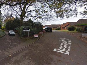 The entrance to Bearnett House off Bearnett Drive, Wombourne. Photo: Google Street View