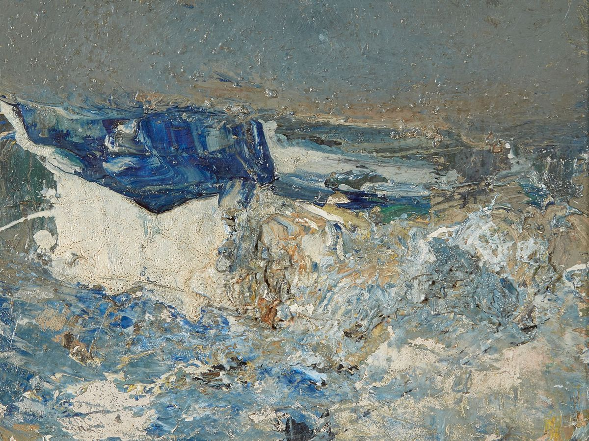 Joan Eardley seascape