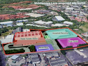 WALSALL COPYRIGHT MNA MEDIA TIM THURSFIELD 13/10/21 .Consultation at Aldridge Library, to allow residents to view and discuss their concerns about the huge recycling centre due to be built on Middlemore Lane, Aldridge..