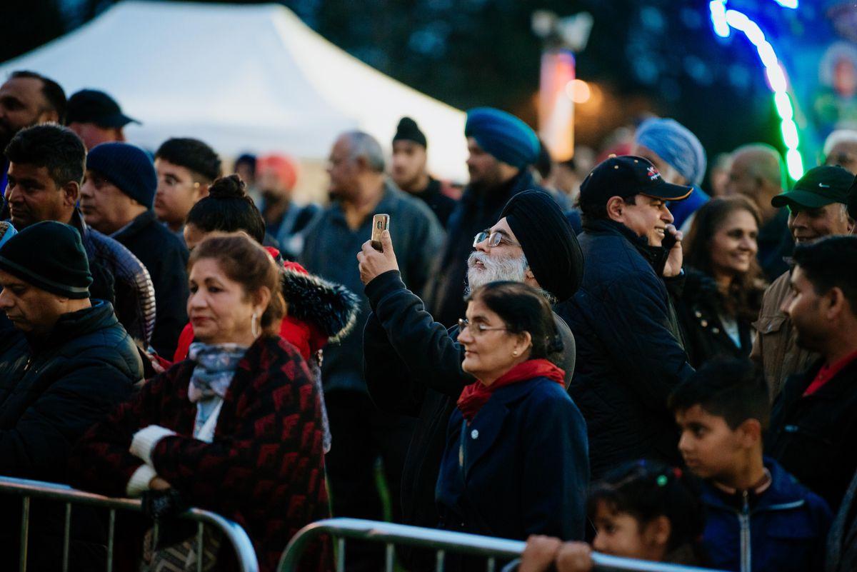 Diwali Festival at Phoenix Park in Wolverhampton