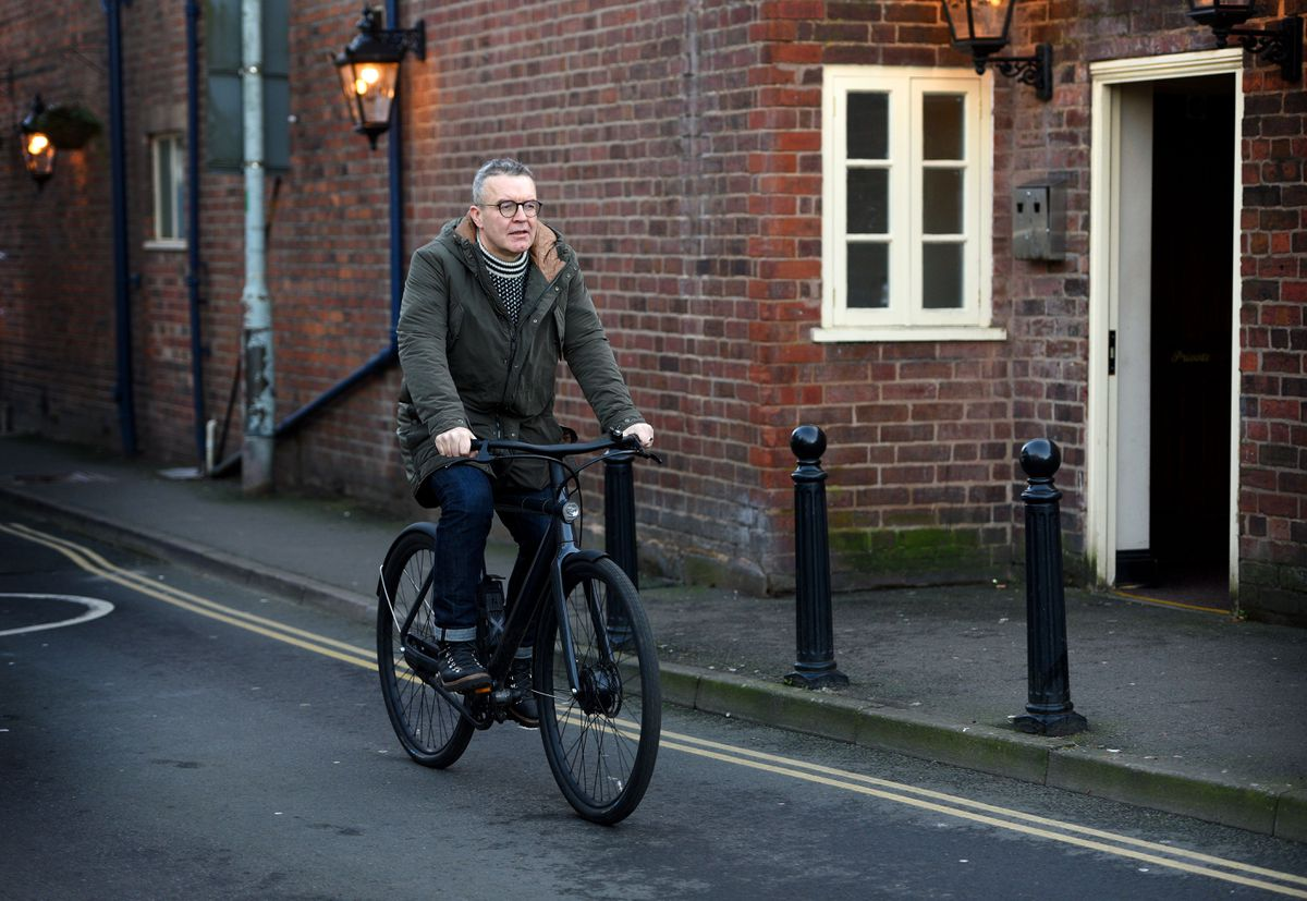 Cycling is now a part of Mr Watson's fitness regime