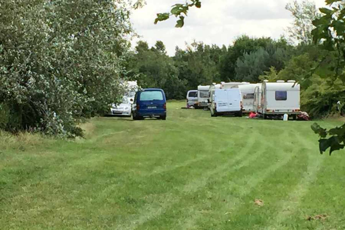 £25k of Wolverhampton taxpayers' money to clean up travellers' mess