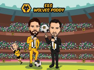 Wolves poddy
