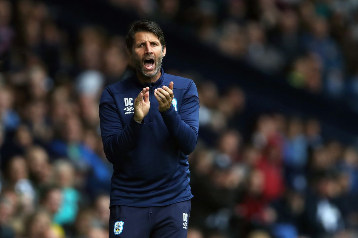 Danny Cowley Manager / Head Coach of Huddersfield Town. (AMA)