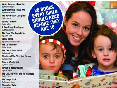 Book-ing in time to read to youngsters for World Book Day