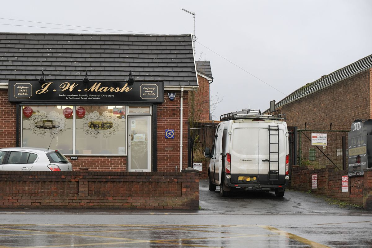 The funeral directors was targeted on Tuesday, November 12 by burglars (Image by SnapperSK)