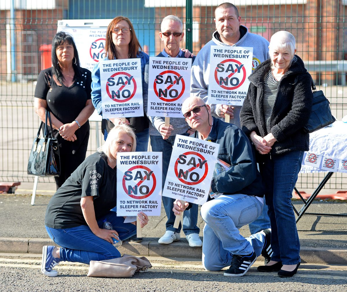 Nearby residents have campaigned against the plans
